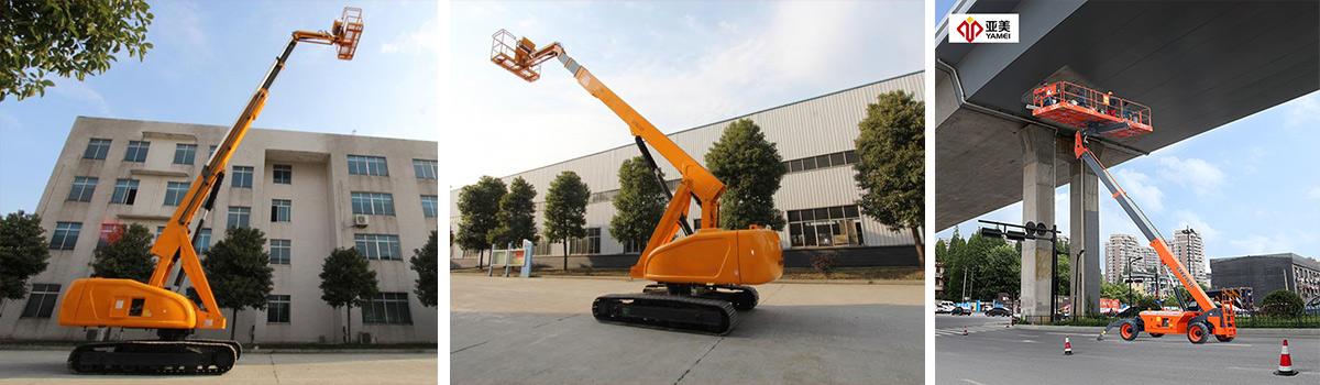 自行式直臂高空作业平台GTBZ18S-产品展示-亚美科技