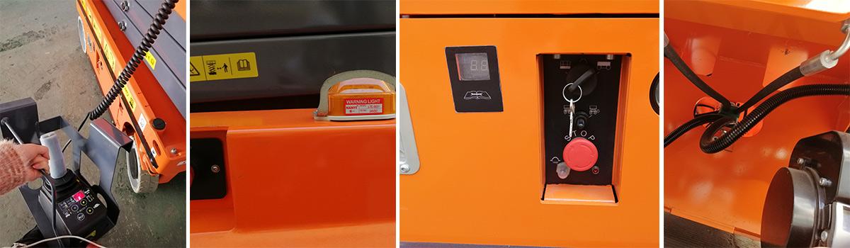 剪叉式液压驱动式高空作业平台JCPT1012HD-产品细节-亚美科技